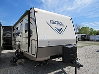2018 Flagstaff Micro Lite 25BRDS Camping Trailer with Bunk Beds and Outdoor Kitchen
