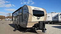 2018 Micro Lite 25BRDS by Flagstaff Bunkhouse Travel Trailer with Outdoor Kitchen