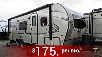 2018 Micro Lite 25KS by Forest River w/Murphy Bed