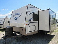 2018 Flagstaff Micro Lite 25BRDS Camping Trailer with Bunks and Outdoor Kitchen