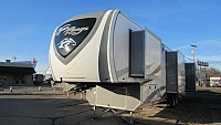 2018 Open Range RF374BHS Bunkhouse 5th Wheel with 1.5 Baths & Outside Kitchen
