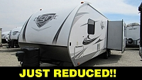 2018 Open Range Light 280RKS Rear Kitchen Travel Trailer with Outside Kitchen
