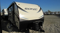 2018 Venture RV Sonic 190VRB Travel trailer with Murphy Bed