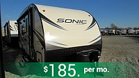 2018 Sonic 190VRB Travel trailer with Murphy Bed