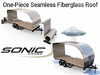 2019 Sonic 220VBH Light Weight Travel Trailer with Bunks