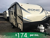 2018 Sonic Lite 150VRK Lightweight Travel Trailer