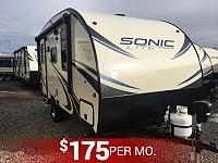 2018 Sonic Lite 150VRK Lightweight Travel Trailer