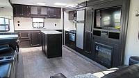 2018 SportTrek 312VRK Rear Kitchen Travel Trailer