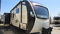 2018 SportTrek 336VRK Touring Edition Travel Trailer with King Bed and Outside Kitchen