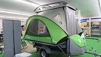 2018 SylvanSport Go Pop Up Camper Toy Hauler Trailer