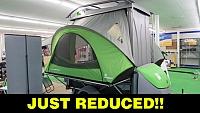 2018 SylvanSport Go Pop Up Camper Toy Hauler Trailer