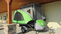 2018 SylvanSport Go Pop Up Utility Trailer