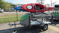 2018 SylvanSport Go Utility Trailer Pop Up