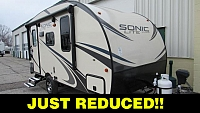 2018 Venture RV Sonic Lite 150VRK Lightweight Travel Trailer