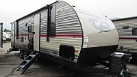 2019 Cherokee 274DBH Travel Trailer with Double Bunks with Outside Kitchen