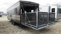 2019 Cherokee Grey Wolf 22RR Toy Hauler Travel Trailer