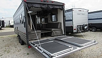2019 Cherokee Grey Wolf 22RR - 29ft. Toy Hauler Travel Trailer