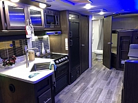 2019 Cherokee Grey Wolf 26DBH Trailer with Bunk Beds and Outside Kitchen