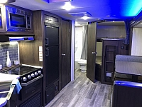 New 2019 Cherokee Grey Wolf 26DBH Bunkhouse Trailer with Mini Outside Kitchen