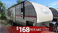 2019 Cherokee Grey Wolf 26DJSE Travel Trailer with Double Bunks