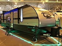 New 2019 Cherokee Grey Wolf 26RR Toy Hauler Travel Trailer