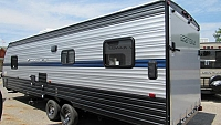 2019 Cherokee Grey Wolf 26RR Toy Hauler with Patio