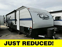 2019 Cherokee Grey Wolf 27DBH Travel Trailer with Double Bunk Beds