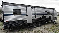 2019 Cherokee Grey Wolf 27RR Toy Hauler Trailer with Separate Garage