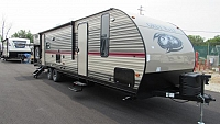 2019 Cherokee Grey Wolf 29TE Camping Trailer with Bunks & Outside Kitchen
