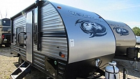 2019 Cherokee Wolf Pup 16FQ - Light Weight Travel Trailer