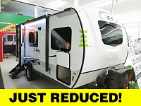 2019 Flagstaff E-Pro E19QB Light Weight Travel Trailer with Front Queen Bed