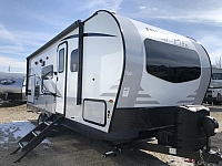 2019 Flagstaff Micro Lite 25BDS Camping Trailer with Outdoor Kitchen