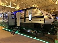2019 Forest River Cherokee 274WK Rear Living Room Travel Trailer