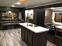 New 2019 Forest River Cherokee 274WK Rear Living Room Travel Trailer