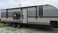 2019 Forest River Cherokee Grey Wolf 26RR Toy Hauler with Patio