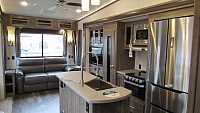 2019 Forest River Sabre 32DPT 5th Wheel with King Bed in Slide-out