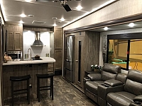 2019 Forest River Sabre 32SKT - Rear Kitchen 5th Wheel with an Outdoor Kitchen