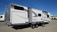 2018 Open Range Roamer 310BHS Travel Trailer with Bunks and Outdoor Kitchen