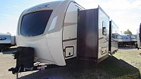 2019 SportTrek 302VRB Touring Edition Travel Trailer with King Bed and Outside Kitchen