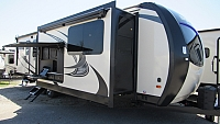 2019 SportTrek 333VFK by Venture RV Front Kitchen with King Bed Travel Trailer
