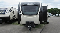 2019 SportTrek 336VRK Touring Edition Travel Trailer with King Bed and Outside Kitchen
