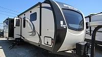 2019 SportTrek 343VIK Front King Bedroom with Kitchen Island Travel Trailer by Venture RV