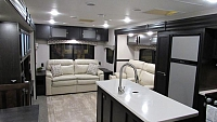 2019 Sporttrek 343VIK Front King Bedroom with Kitchen Island Travel Trailer by Venture RV
