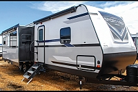 2019 Venture RV Sporttrek 327VIK Rear Bunkhouse with Outside Kitchen Travel Trailer