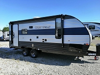 2020 Cherokee Grey Wolf 19RR Toy Hauler Travel Trailer with Rear Patio System