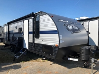 2020 Grey Wolf 26DBH by Forest River - Bunkhouse Trailer with Mini Outside Kitchen