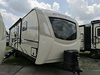 2020 Sporttrek 302VRB Touring Edition Travel Trailer with King Bed and Outside Kitchen