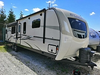 2020 Sporttrek 343VIK Front King Bedroom with Kitchen Island Travel Trailer by Venture RV