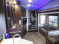 Cherokee Arctic Wolf 265DBH8 - Light Weight 5th Wheel with Bunks