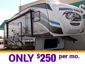 Cherokee Arctic Wolf Fifth Wheel 255DRL4